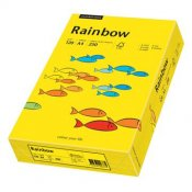 Kopieringspapper Rainbow intensive yellow A4 120gr