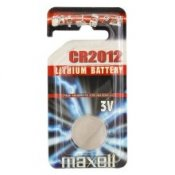 Maxell CR2012 BLISTER 1PC